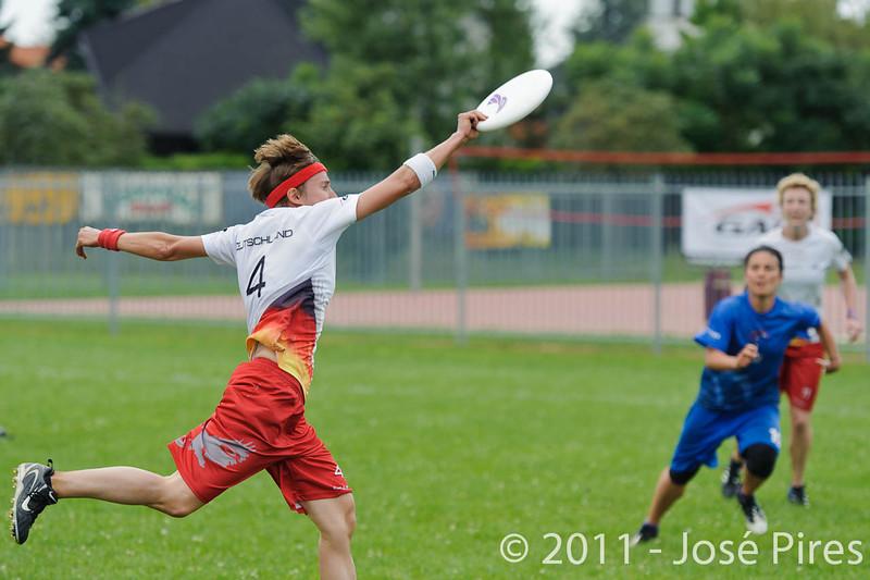 EUC2011, Maribor Slovenia.<br /> Great Britain vs Germany. Women Division<br /> PhotoId :2011-08-03-0274