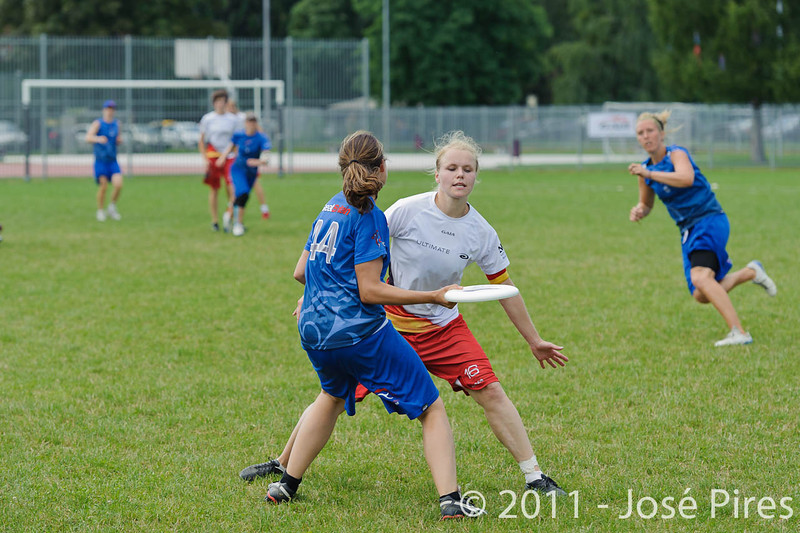 EUC2011, Maribor Slovenia.<br /> Great Britain vs Germany. Women Division<br /> PhotoId :2011-08-03-0197