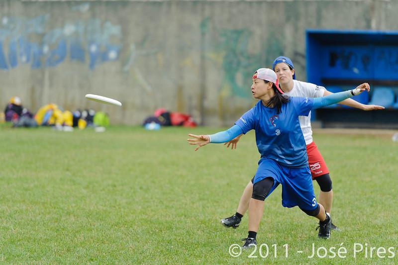EUC2011, Maribor Slovenia.<br /> Great Britain vs Germany. Women Division<br /> PhotoId :2011-08-03-0229
