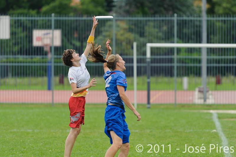 EUC2011, Maribor Slovenia.<br /> Great Britain vs Germany. Women Division<br /> PhotoId :2011-08-03-0254