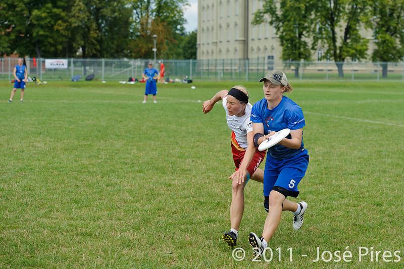 EUC2011, Maribor Slovenia.<br /> Great Britain vs Germany. Women Division<br /> PhotoId :2011-08-03-0186