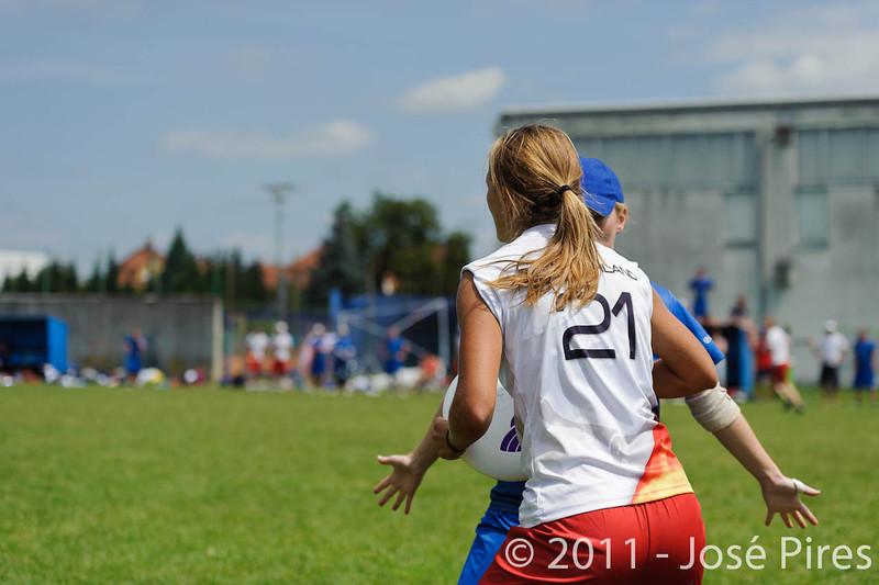 EUC2011, Maribor Slovenia.<br /> Great Britain vs Germany. Women Division<br /> PhotoId :2011-08-03-0484