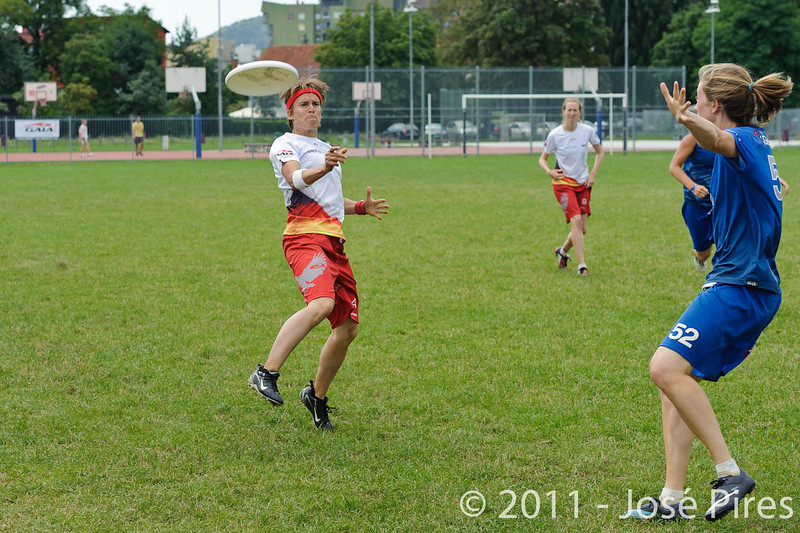 EUC2011, Maribor Slovenia.<br /> Great Britain vs Germany. Women Division<br /> PhotoId :2011-08-03-0214