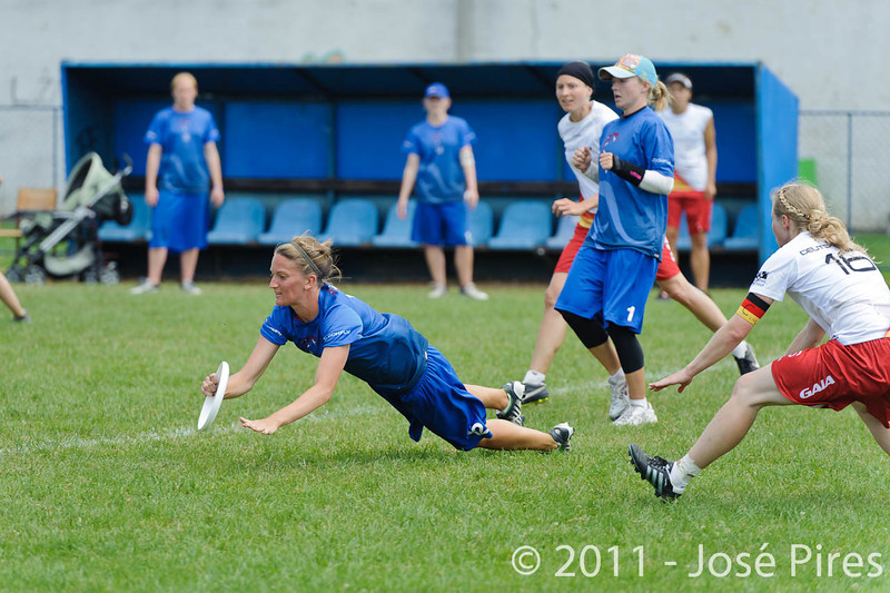 EUC2011, Maribor Slovenia.<br /> Great Britain vs Germany. Women Division<br /> PhotoId :2011-08-03-0408
