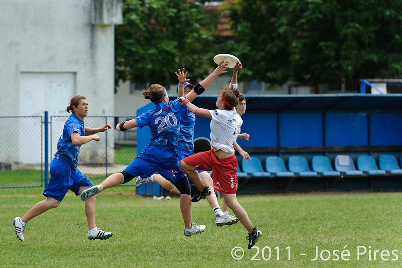 EUC2011, Maribor Slovenia.<br /> Great Britain vs Germany. Women Division<br /> PhotoId :2011-08-03-0441