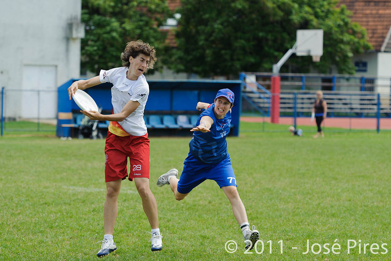 EUC2011, Maribor Slovenia.<br /> Great Britain vs Germany. Women Division<br /> PhotoId :2011-08-03-0416
