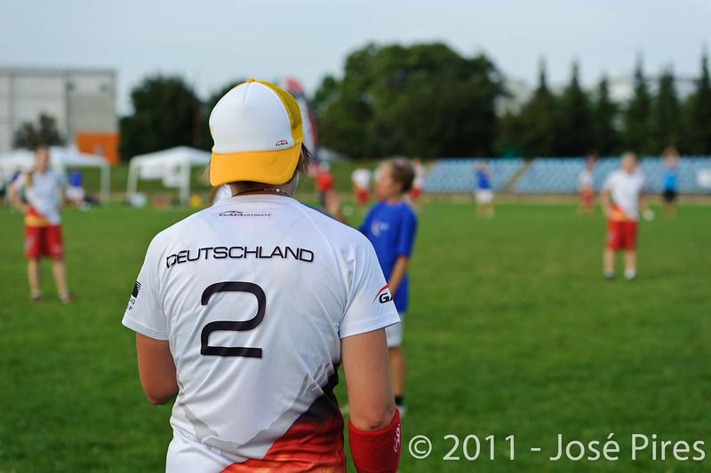 EUC2011, Maribor Slovenia.<br /> Italy vs Germany. Women Division<br /> PhotoId :2011-08-03-1303