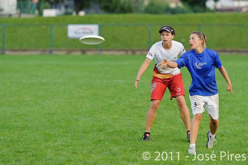 EUC2011, Maribor Slovenia.<br /> Italy vs Germany. Women Division<br /> PhotoId :2011-08-03-1429