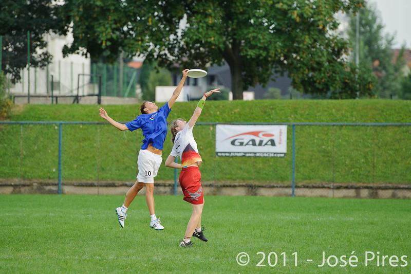 EUC2011, Maribor Slovenia.<br /> Italy vs Germany. Women Division<br /> PhotoId :2011-08-03-1401