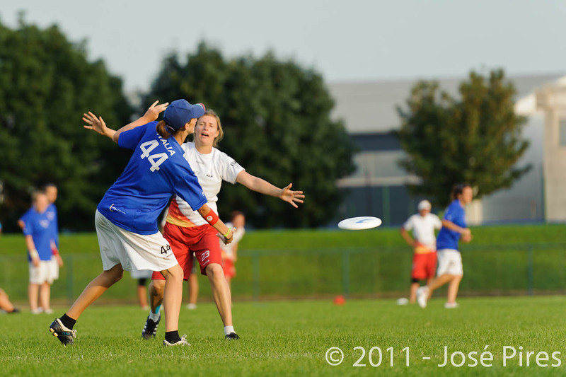 EUC2011, Maribor Slovenia.<br /> Italy vs Germany. Women Division<br /> PhotoId :2011-08-03-1370