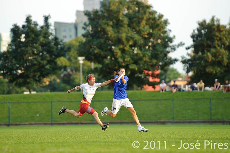 EUC2011, Maribor Slovenia.<br /> Italy vs Germany. Women Division<br /> PhotoId :2011-08-03-1371