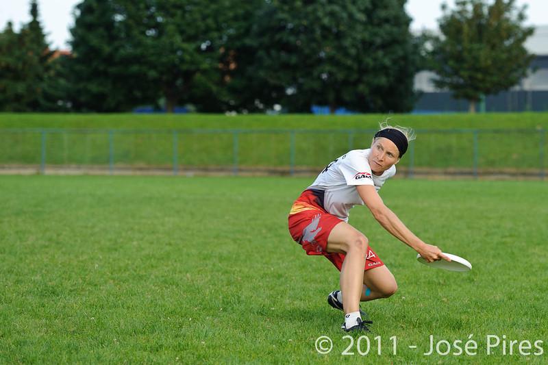 EUC2011, Maribor Slovenia.<br /> Italy vs Germany. Women Division<br /> PhotoId :2011-08-03-1274