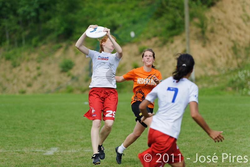 EUC2011, Maribor Slovenia.<br /> Netherlands vs France. Women Division<br /> PhotoId :2011-08-03-0732