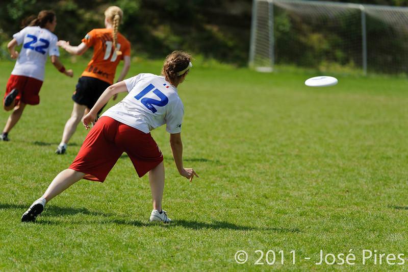 EUC2011, Maribor Slovenia.<br /> Netherlands vs France. Women Division<br /> PhotoId :2011-08-03-0715