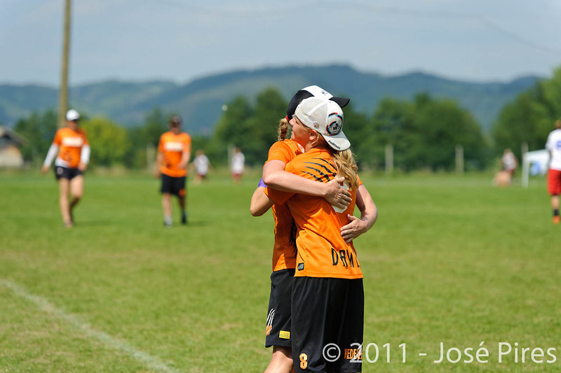 EUC2011, Maribor Slovenia.<br /> Netherlands vs France. Women Division<br /> PhotoId :2011-08-03-0687