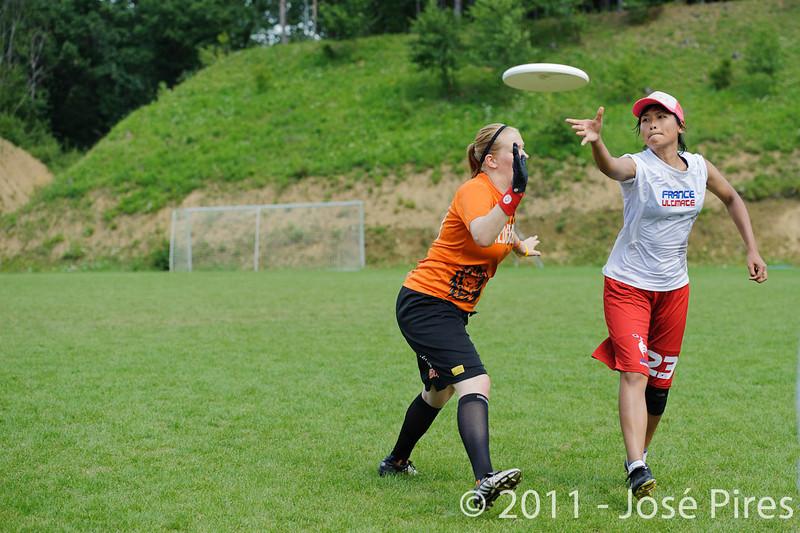 EUC2011, Maribor Slovenia.<br /> Netherlands vs France. Women Division<br /> PhotoId :2011-08-03-0690