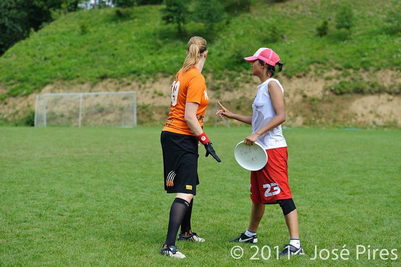 EUC2011, Maribor Slovenia.<br /> Netherlands vs France. Women Division<br /> PhotoId :2011-08-03-0688