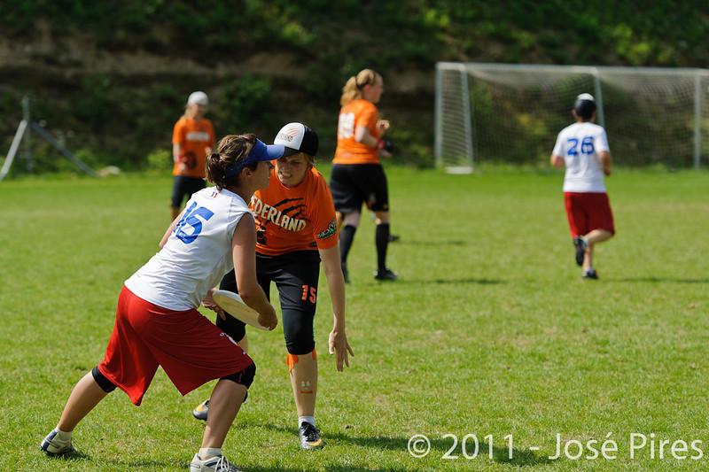 EUC2011, Maribor Slovenia.<br /> Netherlands vs France. Women Division<br /> PhotoId :2011-08-03-0762