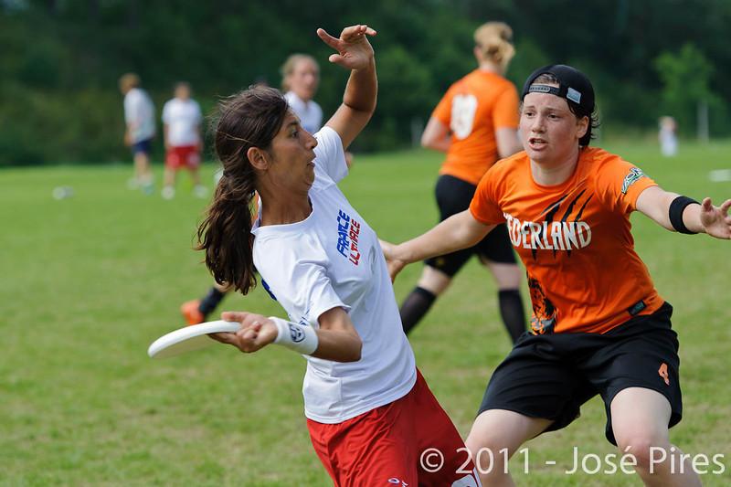 EUC2011, Maribor Slovenia.<br /> Netherlands vs France. Women Division<br /> PhotoId :2011-08-03-0754