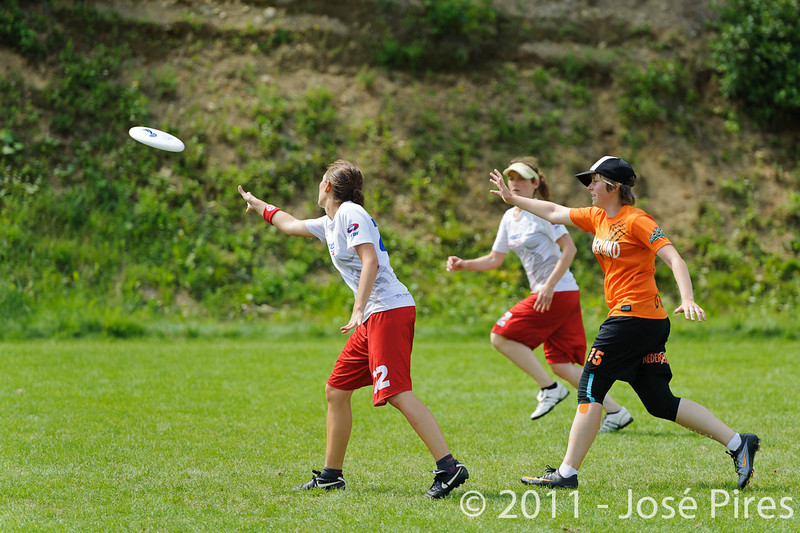 EUC2011, Maribor Slovenia.<br /> Netherlands vs France. Women Division<br /> PhotoId :2011-08-03-0707