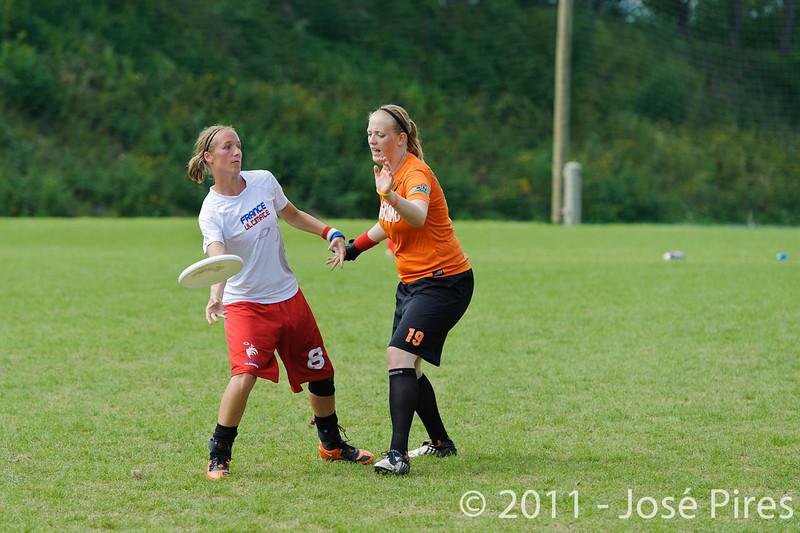EUC2011, Maribor Slovenia.<br /> Netherlands vs France. Women Division<br /> PhotoId :2011-08-03-0752