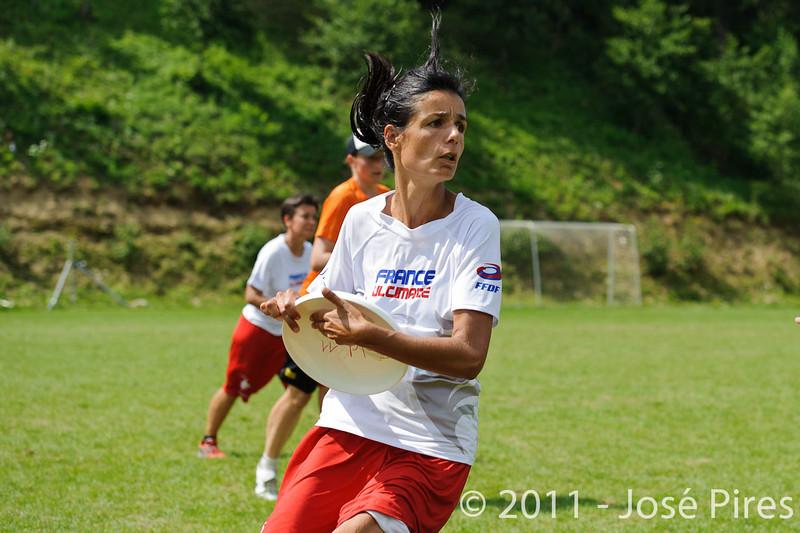 EUC2011, Maribor Slovenia.<br /> Netherlands vs France. Women Division<br /> PhotoId :2011-08-03-0666