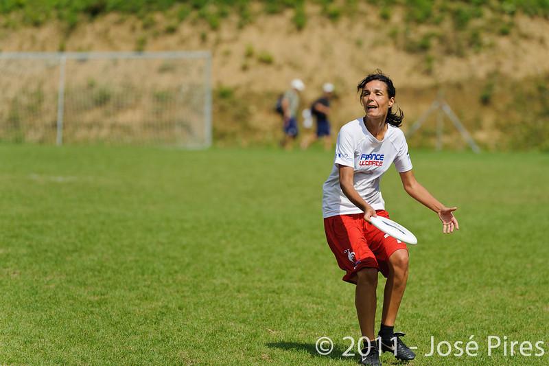 EUC2011, Maribor Slovenia.<br /> Netherlands vs France. Women Division<br /> PhotoId :2011-08-03-0792