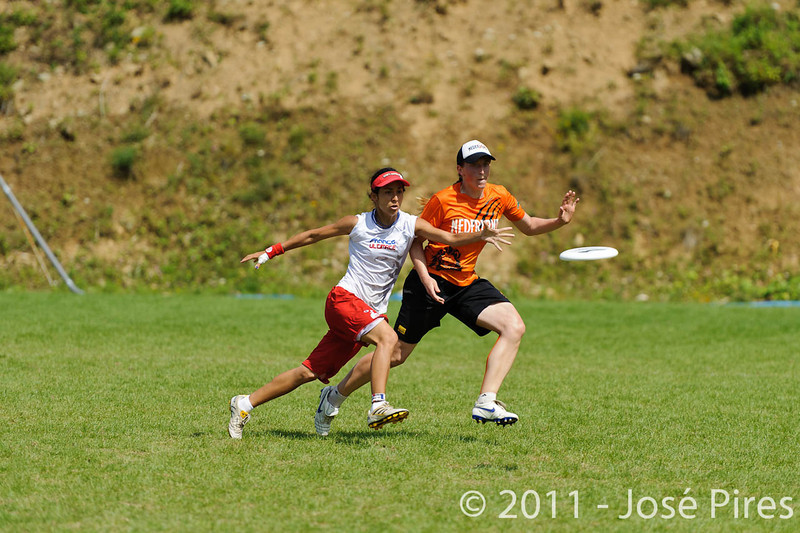 EUC2011, Maribor Slovenia.<br /> Netherlands vs France. Women Division<br /> PhotoId :2011-08-03-0645