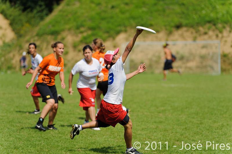EUC2011, Maribor Slovenia.<br /> Netherlands vs France. Women Division<br /> PhotoId :2011-08-03-0796