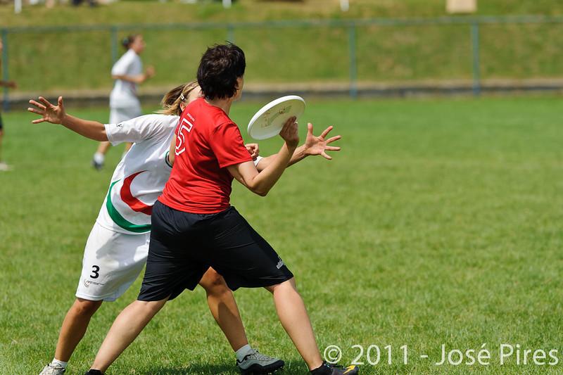 EUC2011, Maribor Slovenia.<br /> Switzerland vs Italy. Women Division<br /> PhotoId :2011-08-03-0509