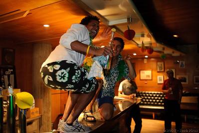 EUCF2008 - Hawaii Party