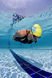 Dynamic No Fins  Lotta Ericson training DNF in Dahab Egypt.  Ikelite 7D Housing (8'' Dome Port) Ikelite DS-161 Strobes