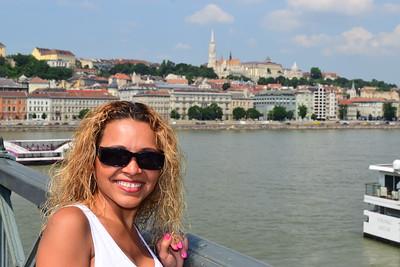 El Danubio desde el Puente de las Cadenas