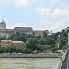 Vista del Castillo de Buda desde el Puente de las Cadenas