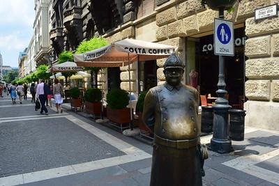 Estatua del Policia, Budapest