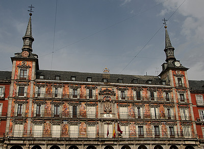 PLAZA MAYOR,MADRID,SPAIN