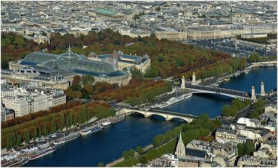 THE GRAND PALAIS AND PONT ALEXANDRE III, PARIS