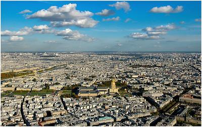 MAGNIFICENT AUTUMN VIEW EAST, TOUR EIFFEL, PARIS