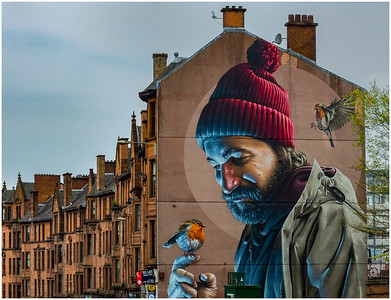 MURAL BY SMUG - HIGH STREET, GLASGOW
