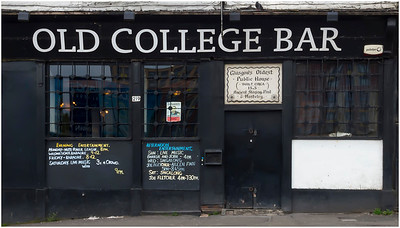 OLD COLLEGE BAR, HIGH STREET, GLASGOW