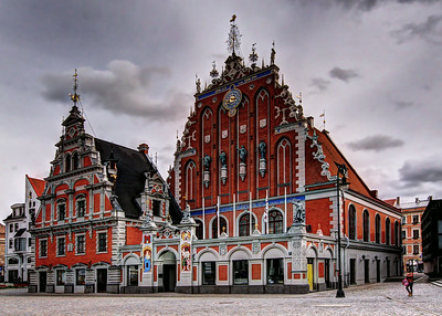 HOUSE OF THE BLACKHEADS - RIGA