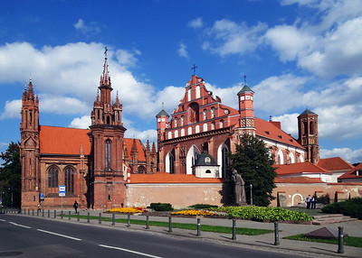 ST. ANNE'S CHURCH - VILNIUS
