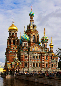CHURCH ON SPILLED BLOOD - ST PETERSBURG