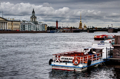 NEVA RIVER - ST PETERSBURG