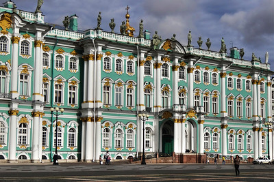 THE HERMITAGE - ST. PETERBURG