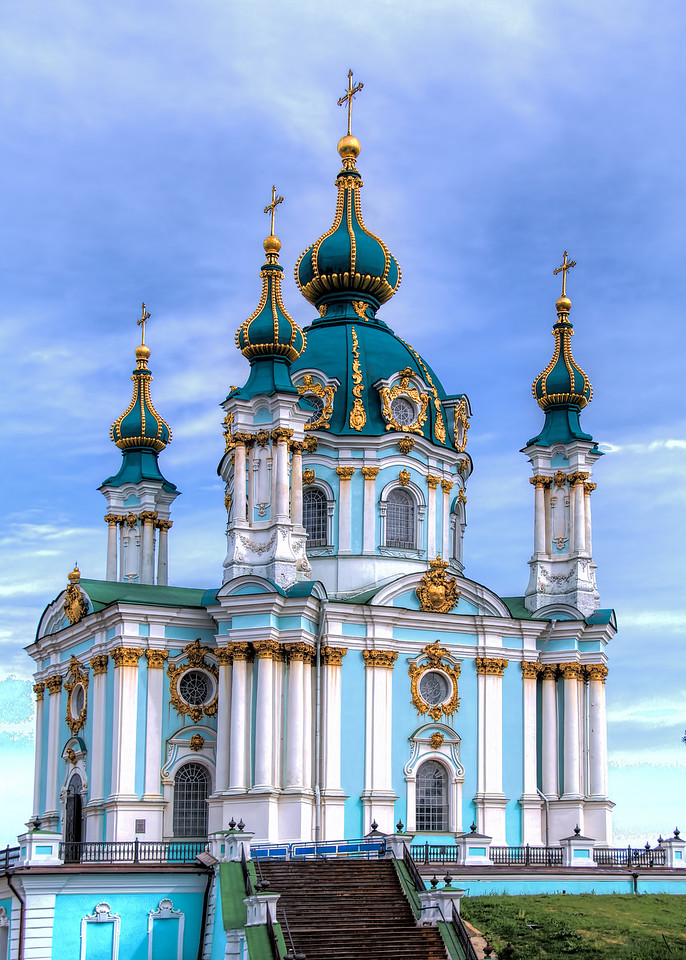 ST. ANDREW'S CATHEDRAL - KIEV