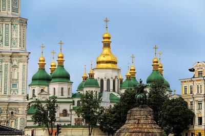 ST. SOPHIA'S CATHEDRAL - KIEV