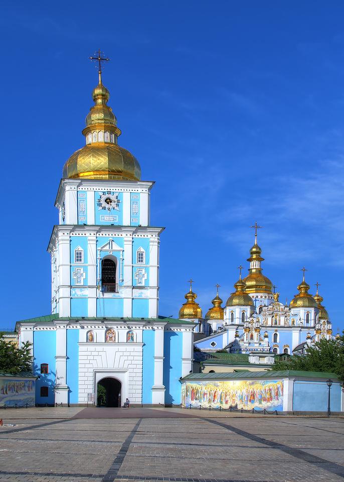 ST MICHAEL'S MONASTERY - KIEV