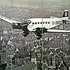 Hitler fllying over Nuremberg!