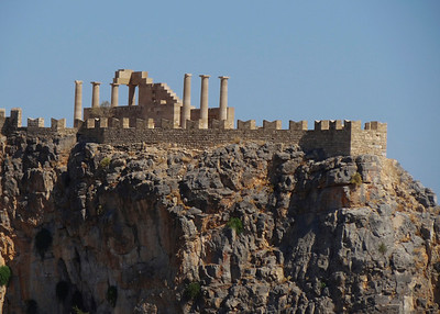 THE ACROPOLIS - LINDOS, RHODES